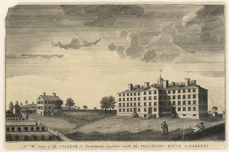 View of the College 1792