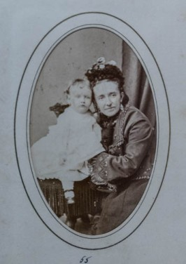Anna Copeland Ames Hall w/ her mother, Catherine Hayward Copeland Ames